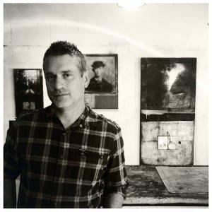 Diodate in his studio