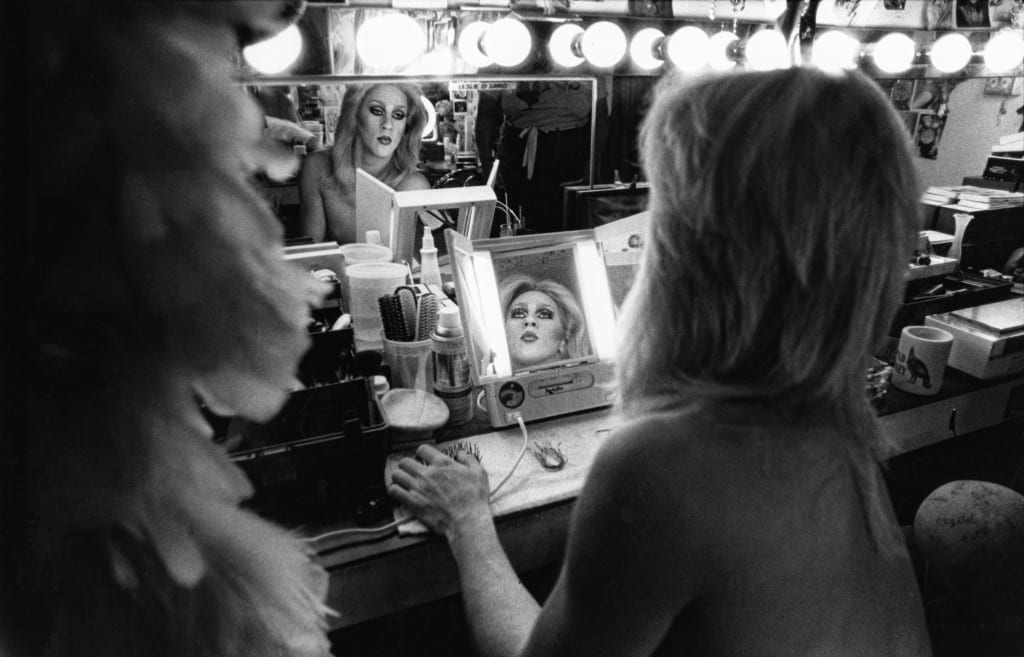 Over six feet tall before putting on stiletto heels, Leslie was the perfect woman, a gender she inhabited part time while dancing and vamping at Illusions, a drag show bar in Atlanta, GA. 1982, by Billy Howard
