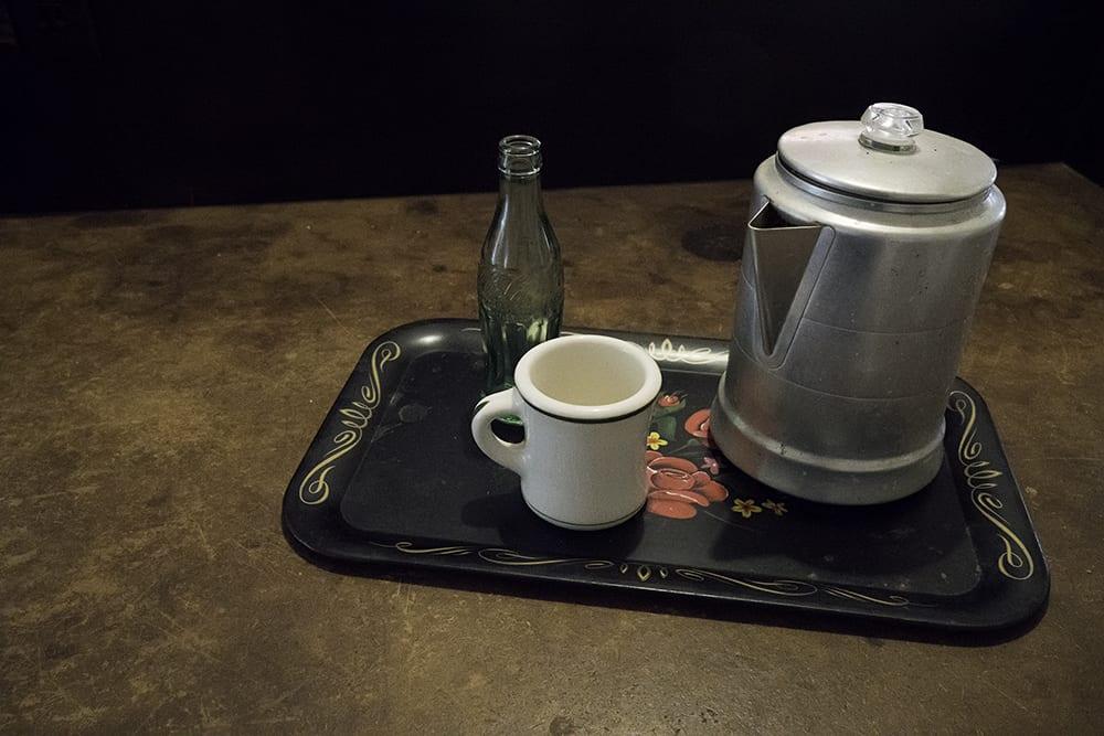 Tray with Coffee Pot ©Lucinda Bunnen