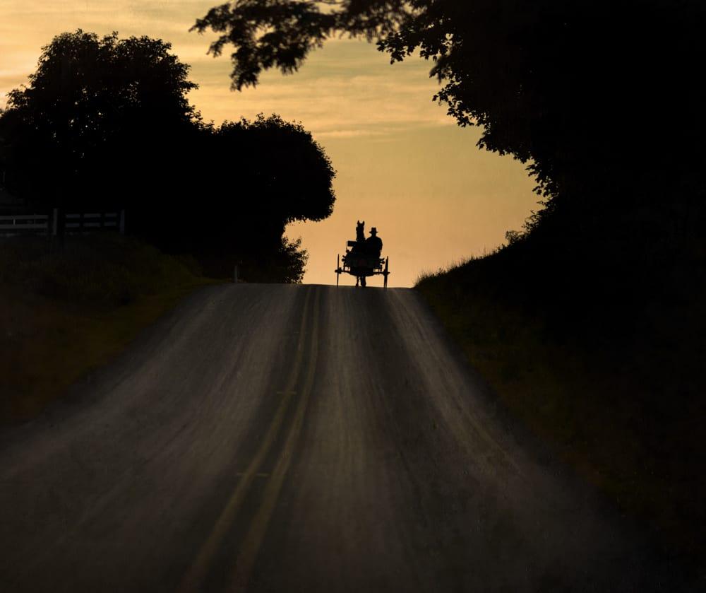 Amish Traveler, Lancaster County, Pennsylvania